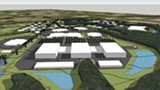 A rendering of the STAMP site in Genesee County. - PROVIDED IMAGE