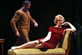 "PHOTO BY KEN HUTH - A scene from ""The 39 Steps,"" now on stage at Geva Theatre."
