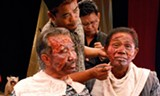 """PHOTO COURTESY FINAL CUT FOR REAL - A scene from """"The Act of Killing."""""""
