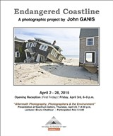 © JOHN GANIS, 2013. - (After Hurricane Sandy) Beach Houses, Mantoloking, 2013.