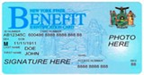 PHOTO PROVIDED - An electronic benefits card.