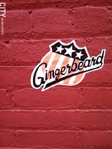 PHOTO BY JEREMY MOULE - An example of Ginger Beard's work, which has been popping up lately in the South Wedge.