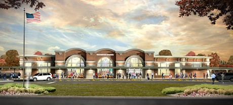 An exterior rendering of the Rochester Intermodal Station. - IMAGE COURTESY OF LABELLA ASSOCIATES AND THE PIKE COMPANY