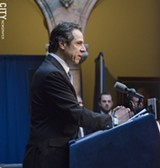 PHOTO BY MARK CHAMBERLIN - Andrew Cuomo