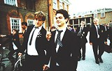 """FOX SEARCHLIGHT PICTURES - Andrew Knott and Dominic Cooper (left to right) in """"The History Boys."""""""