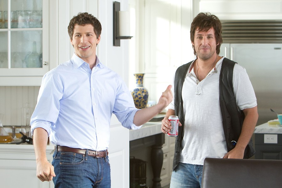 "Andy Samberg and Adam Sandler in ""That's My Boy."" PHOTO COURTESY COLUMBIA PICTURES"