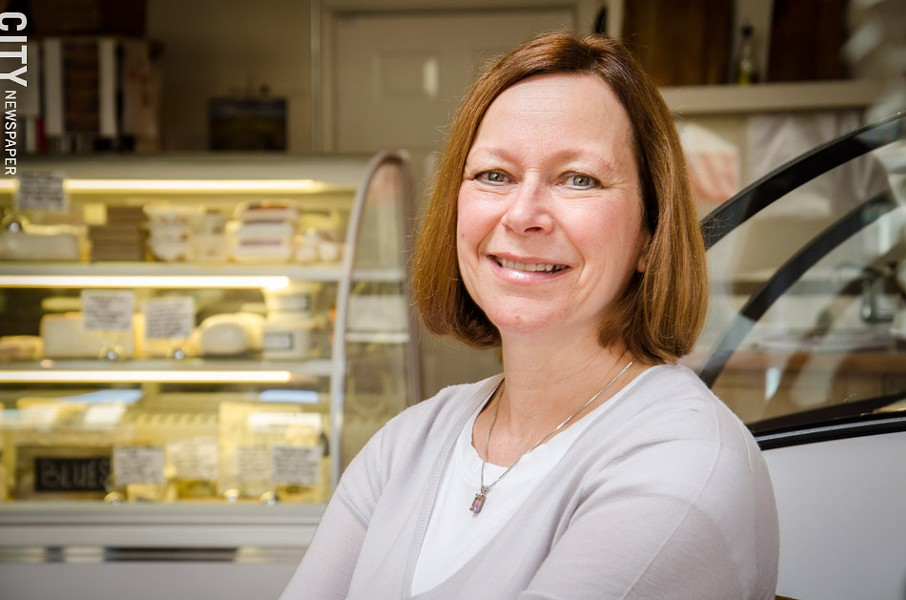 Ann Duckett, owner of the South Wedge's The Little Bleu Cheese Shop. - PHOTO BY MARK CHAMBERLIN