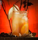 PHOTO BY MARK CHAMBERLIN - Apple Cider Margarita.