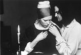 LIONS GATE FILMS - Art brought them together: Scarlett Johansson and Colin Firth in Girl With a Pearl Earring.