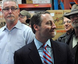 Rob Astorino, a Republican and the Westchester county executive, is running for governor. - PHOTO BY JEREMY MOULE