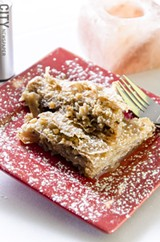 Baklava from Mamma Lucia. - PHOTO BY MARK CHAMBERLIN