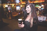 Bar patron Heather Saffer at Carroll'S Bar and Restaurant. - FILE PHOTO