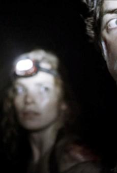 "Ben Feldman becomes afraid of the dark in ""As Above, So Below."""