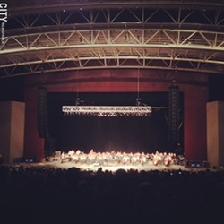 Ben Folds with the RPO at CMAC - PHOTO BY MATT DETURCK