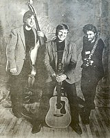 PHOTO COURTESY KINLOCH NELSON - Bernie Heveron, Walt Atkison, and Kinloch Nelson in a photo from the 1980's.