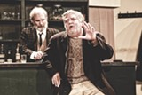 "PHOTO BY ANNETTE DRAGON - Bill Alden portrays Bull McCabe in the Irish Players of - Rochester production of ""The Field."" The play is currently on stage at MuCCC through March 29."