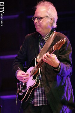 Bill Frisell performed at Kilbourn Hall - PHOTO BY FRANK DE BLASE