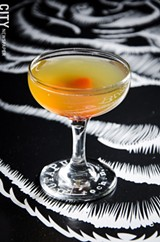 PHOTO BY MARK CHAMBERLIN - Blood and Sand cocktail