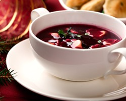 Borscht is part of a traditional Sviata Vecherya meal on Christmas Eve. FILE PhOTO