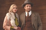 "PHOTO COURTESY THE WEINSTEIN COMPANY< - Bradley - Cooper and Jennifer Lawrence in ""Serena."""
