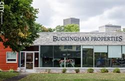 Buckingham Properties on Alexander Street. - PHOTO BY MARK CHAMBERLIN