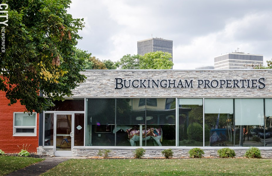 Buckingham Properties on Alexander Street. - PHOTO BY MARK CHAMBERLIN