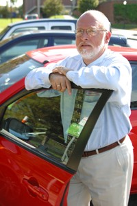Cam Schauf manages the new Zipcar program at UR. - PHOTO BY JUSTIN REYNOLDS