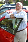 Cam Schauf manages the new Zipcar program at UR.