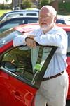 Cam Schauf manages the new Zipcar program at UR.