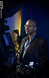Carvin Eison, filmmaker and general manager at Rochester Community Television - PHOTO BY MATT DETURCK