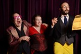 """PHOTO PROVIDED - Cast members of Shakespeare Players' """"Twelfth Night."""" The production is running through July 20 at the Highland Bowl."""