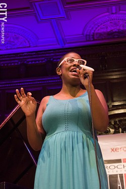 Cécile McLorin Salvant played Kilbourn Hall. - PHOTO BY ASHLEIGH DESKINS
