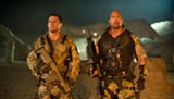 "PHOTO COURTESY PARAMOUNT PICTURES - Channing Tatum and Dwayne Johnson in ""G.I. Joe: Retaliation."""