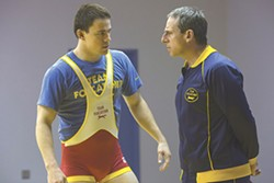 "Channing Tatum and Steve Carell in ""Foxcatcher."" - PHOTO COURTESY SONY PICTURES CLASSICS"