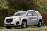 Chevrolet Equinox fuel cell vehicle. COPYRIGHT GENERAL MOTORS