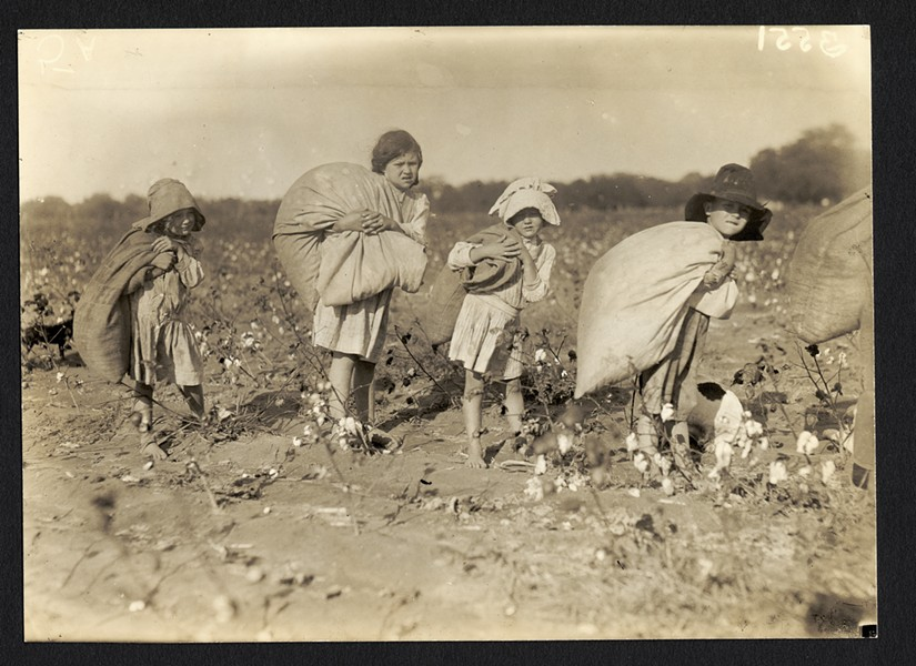 """Child Labor"" by Lewis W. Hine. Ca. 1913. Currently on display at George Eastman House - PHOTO COURTESY GEORGE EASTMAN HOUSE"