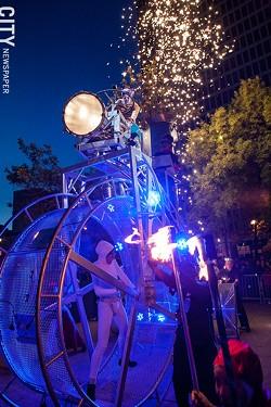 "Circus Orange's ""Tricycle"" - PHOTO BY JOHN SCHLIA"