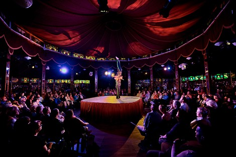 Cirque du Fringe. - PHOTO BY ERICH CAMPING
