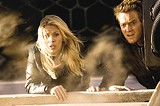 DREAMWORKS PICTURES - Clones on the run: Scarlett Johansson and Ewan McGregor in The Island.