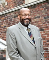 FILE PHOTO - Colgate Rochester Crozer Divinity School President Marvin McMickle.