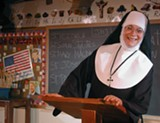 "PHOTO PROVIDED - Colleen Moore in ""Sister's Christmas Catechism,"" playing this holiday season on Geva's Nextstage."