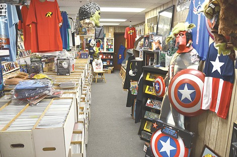 Comic Book Heaven at 938 St. Paul Street. - PHOTO BY MATT DETURCK