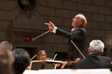 PHOTO BY WALTER COLLEY - Conductor Laureate Christopher Seaman will lead the RPO and - guest pianist Jon Nakamatsu through another program - of Elgar, Saint-Saens, and Stravinsky on Saturday, May 2.
