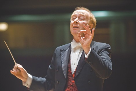 Conductor Laureatue Christopher Seaman (pictured) will join 13 guest conductors to lead the Rochester Philharmonic Orchestra through its 2013-14 classical offerings. Photo by Gelfand-Piper