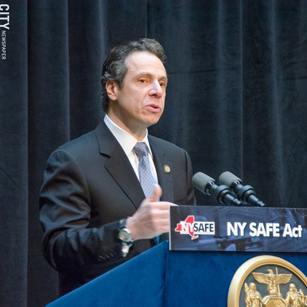 Governor Andrew Cuomo - FILE PHOTO