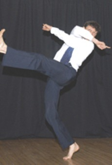 Dancer Roy Wood presents his contemporary dance piece as part of the RCDC spring series.