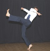 COURTESY RCDC - Dancer Roy Wood presents his contemporary dance piece as part of the RCDC spring series.