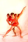 "Dancers from ""4Play,"" one of the works being performed this weekend as part of Rochester City Ballet's 25th anniversary show."