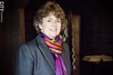PHOTO BY MARK CHAMBERLIN - Deborah Hughes, president and CEO of the Susan B. Anthony Museum & House.