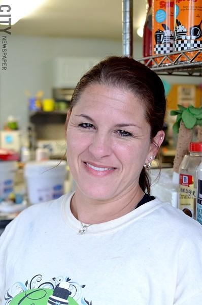 Debra Stirone, chef-owner of Gourmet Goodies. - PHOTO BY MATT DETURCK